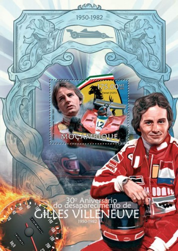 [The 30th Anniversary (2012) of the Death of Gilles Villeneuve, 1950-1982, Typ ]