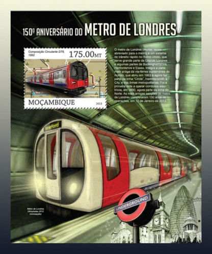 [The 100th Anniversary of the London Underground, Typ ]