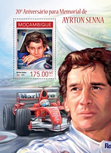 [Sports - Formula 1 - The 20th Anniversary of the Death of Ayrton Senna, 1960-1994, Typ ]