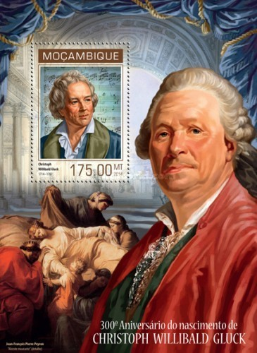 [The 300th Anniversary of the Birth of Christoph Willibald Gluck, 1714-1787, Typ ]