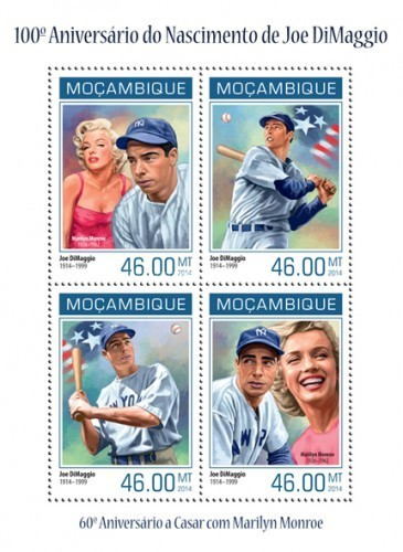 [The 100th Anniversary of the Birth of Joe DiMaggio, 1914-1999, Typ ]