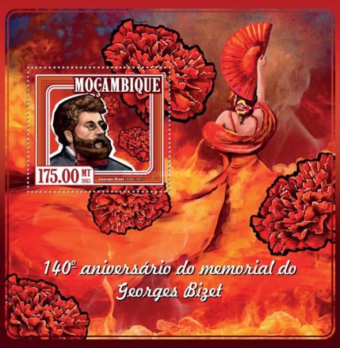 [The 140th Anniversary of the Death of Georges Bizet, 1838-1875, Typ ]