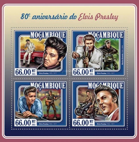 [The 80th Anniversary of the Birth of Elvis Presley, 1835-1977, Typ ]