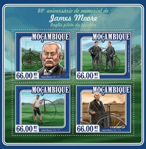 [The 80th Anniversary of the Death of James Moore, 1849-1935, Typ ]