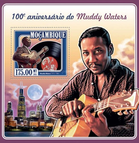 [The 100th Anniversary of the Birth of Muddy Waters, 1915-1983, Typ ]