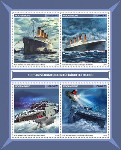 [Transportation - The 105th Anniversary of the Sinking of the Titanic, Typ ]