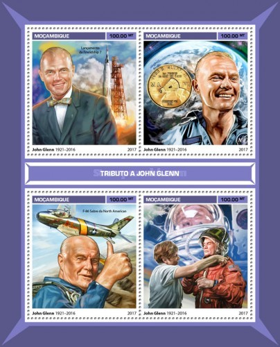 [Space - Tribute to John Glenn, 1921-2016, Typ ]