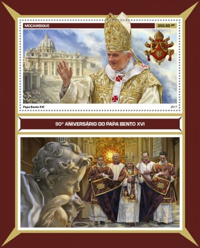 [The 90th Anniversary of the Birth of Pope Benedict XVI, Typ ]