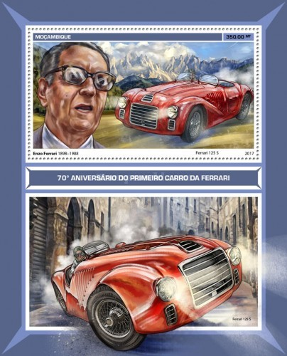 [The 70th Anniversary of the First Ferrari Car, Typ ]