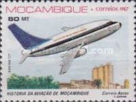 [Airmail - History of Aviation in Mozambique, Typ ABS]