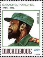 [The 2nd Anniversary of the Death of Samora Machel (President 1975-86), 1933-1986, Typ ACX]