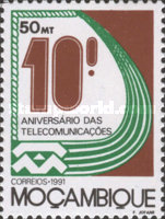 [The 10th Anniversary of National Posts and Telecommunications Enterprises, Mozambique, Typ AGG]
