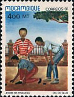 [Day of the Stamp - Children's Games, Typ AHH]
