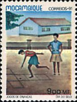 [Day of the Stamp - Children's Games, Typ AHI]