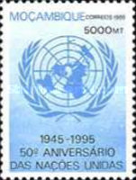 [The 50th Anniversary of United Nations Organization, type ALD]