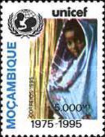 [The 20th Anniversary of UNICEF in Mozambique, Typ ALE]