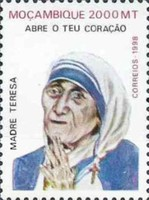 [The 1st Anniversary of the Death of Mother Teresa, 1910-1997, Typ AMS]