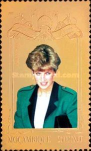 [The 2nd Anniversary of the Death of Diana, Princess of Wales, 1961-1997, Typ APE]