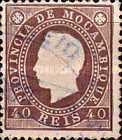 [King Louis I - Different Perforation, type B13]