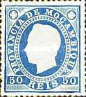 [King Louis I - Different Perforation, type B14]