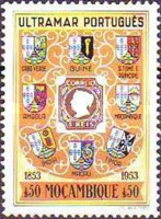[The 100th Anniversary of Portuguese Postage Stamp, Typ DZ]
