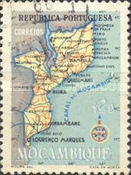 [Map of Mozambique, Typ EB1]