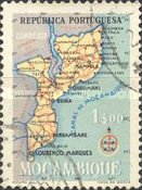 [Map of Mozambique, Typ EB3]
