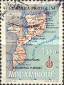 [Map of Mozambique, Typ EB5]