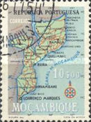 [Map of Mozambique, Typ EB6]