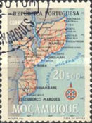[Map of Mozambique, Typ EB7]