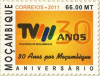 [The 30th Anniversary of Television in Mozambique, Typ ERC]
