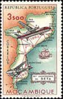 [The 25th Anniversary of D.E.T.A. (Mozambique Airline), type FJ]