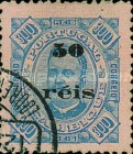 [Issue of 1895 Surcharged, type H]