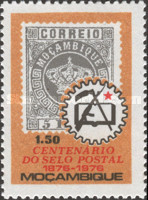 [The 100th Anniversary of Mozambique Stamp, Typ JF]