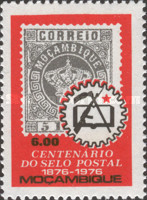 [The 100th Anniversary of Mozambique Stamp, Typ JF1]