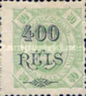 [Issues of 1886-1893 Surcharged, Typ K20]