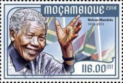 [The 100th Anniversary of the Birth of Nelson Mandela, 1918-2013, Typ MFT]