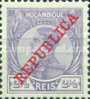 [King Manuel I of Portugal - Not Issued Stamps Overprinted