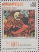 [Paintings - International Stamp Exhibition