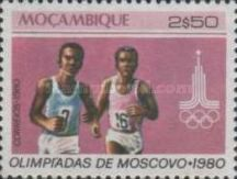 [Olympic Games - Moscow, USSR, type OX]