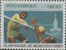[Olympic Games - Moscow, USSR, type OY]