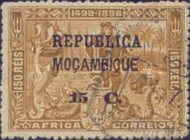 [Portuguese Africa Stamps Overprinted