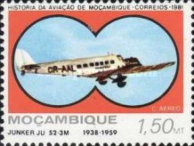 [Airmail - Mozambique Aviation History, Typ QP]