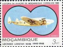 [Airmail - Mozambique Aviation History, Typ QQ]