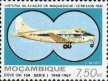 [Airmail - Mozambique Aviation History, Typ QR]