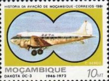 [Airmail - Mozambique Aviation History, Typ QS]
