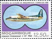 [Airmail - Mozambique Aviation History, Typ QT]