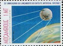 [The 25th Anniversary of First Artificial Satellite, Typ TZ]