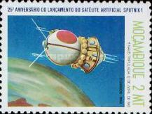 [The 25th Anniversary of First Artificial Satellite, Typ UA]