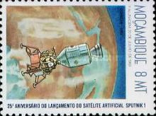 [The 25th Anniversary of First Artificial Satellite, Typ UC]